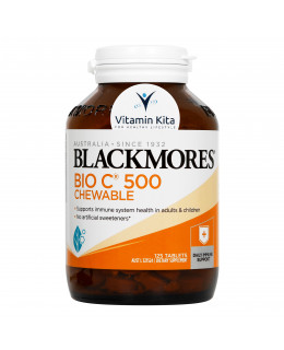 Blackmores Bio C Chewable 500mg (125 tab)