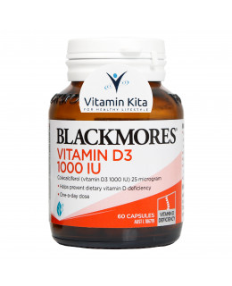 BLACKMORES VITAMIN D3 1000IU (60 CAPS)