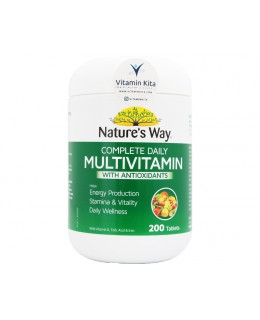 Natures Way Complete Daily Multivitamin With Antioxidants - 200 Tabs
