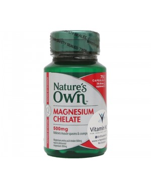 Nature's Own Magnesium Chelate 500mg (75 Tab)