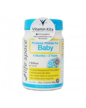 Life Space Probiotic Powder For Baby (60g)