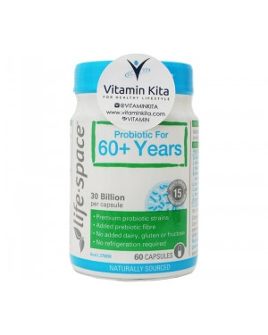 Life Space Probiotic For 60+ Years (60 Cpas)