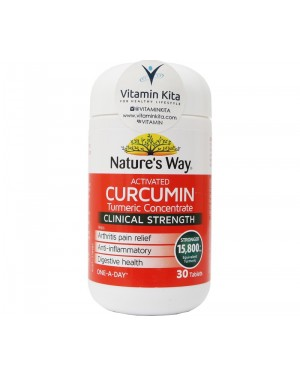 Natures Way Activated Curcumin Clinical Strength (30 Tab)