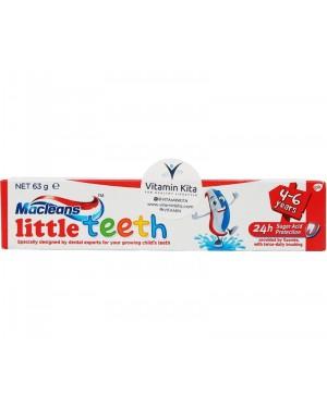 Macleans Little Teeth 4-6 Years (63g)