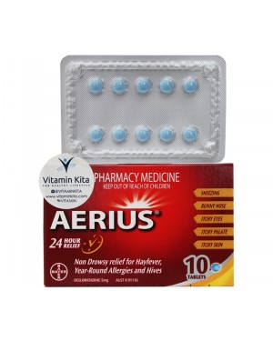 Aerius Anti Allergy (10 Tab)