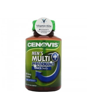 Cenovis Once Daily Men's Multi + Performance (50Caps)