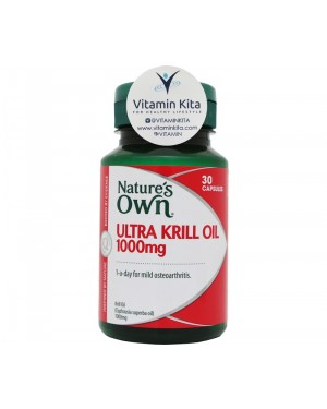 Nature's Own Ultra Krill Oil 1000mg (30 Caps)