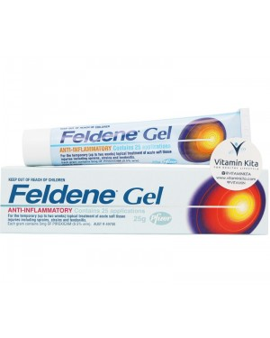 Feldene Gel Anti Inflammatory (25gr)