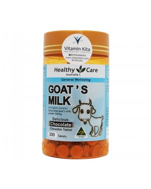 Healthy  Care Goat's Milk Delicious Chocolate Chew Tab (300Tab)