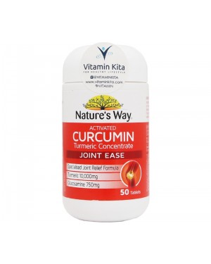 Nature's Way Activated Curcumin Turmeric Concentrate Joint Ease (50 Tab)