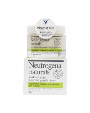 Neutrogena Naturals Multivitamin Nourishing Night Cream (48gr)