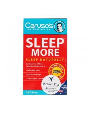 Caruso's Sleep More (30Tab)