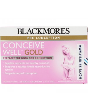 Blackmores Conceive Well Gold  (28Caps+28Tab)