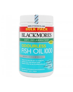 Blackmores Odourless Fish Oil 1000 (500 Caps)