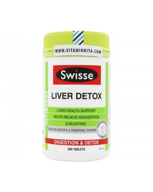 Swisse Ultiboost Liver Detox (200Tab)