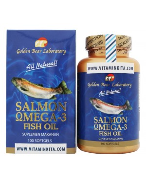 GOLDEN BEAR LABORATORY SALMON OMEGA 3 FISH OIL (100 SOFTGEL)