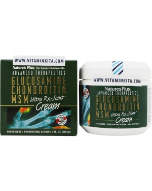 NATURES PLUS ULTRA RX-JOINT GLUCOSAMINE CHONDROITINE CREAM (118 ML)