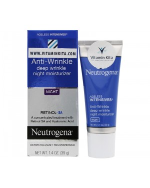 Neutrogena Anti Wrinkle Deep Wrinkle Night Moisturizer (39 gr)