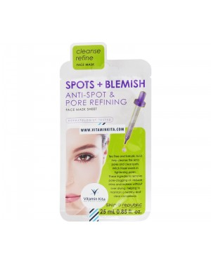 Skin Republic Spots + Blemish Anti Spot & Pore Refining Face Mask (25 ml)
