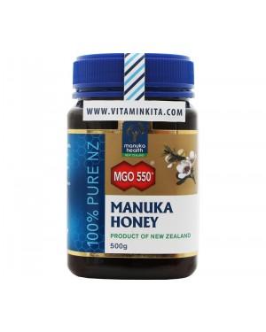 Manuka Health Manuka Honey MGO 550+ 100% Pure NZ (500 gr)