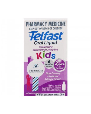Telfast Hayfever Allergy Relief Oral Liquid Kids (150 ml)