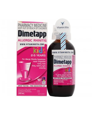 Dimetapp Allergic Rhinitis Kids 2 - 5 Years (200 ml)