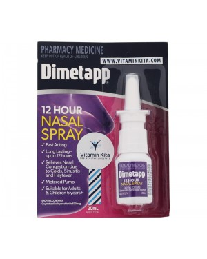 Dimetapp Nasal Spray 12 Hour (20 ml)