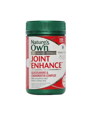 Nature's Own - Joint Enhance Glucosamine & Chondroitin Complex (100 Tab)