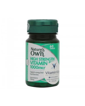 Nature's Own - High Strength Vitamin B12 (60 Tab)