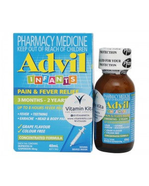 Advil - Infant's Pain & Fever Relief 3 months – 2 years (40ml)
