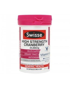Swisse Ultiboost - High Strength Cranberry 25,000mg (30Tab)