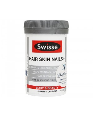 Swisse - Ultiboost Hair Skin Nails+ (60 Tab)