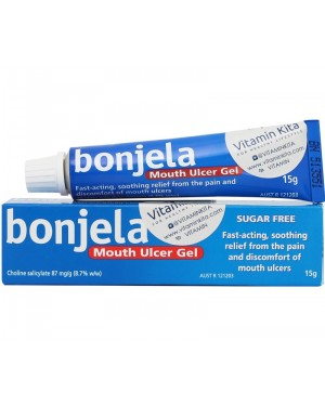 Bonjela Mouth Ulcer Gel (15g)