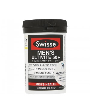 Swisse Men's Ultivite 50+ (60 Tab)