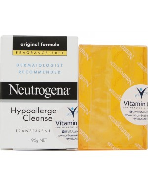 Neutrogena Hypoallergenic Cleanser Bar (95g)
