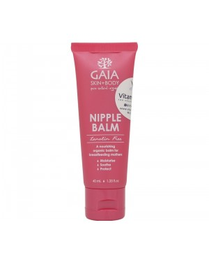Gaia Pure Pregnancy Nipple Balm (40mL)