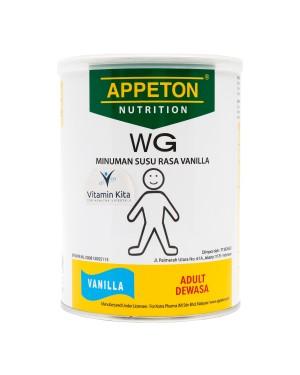 APPETON WEIGHT GAIN SUSU UNTUK GEMUK RASA VANILLA 450 Gr