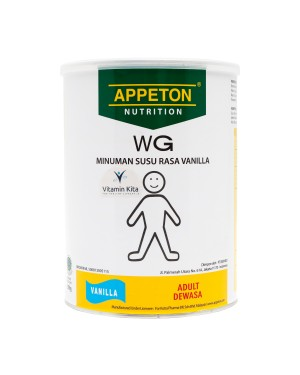 APPETON WEIGHT GAIN SUSU UNTUK GEMUK RASA VANILLA 900 Gr