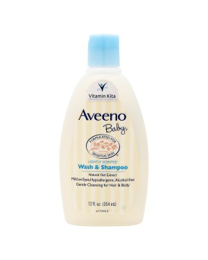 AVEENO BABY WASH AND SHAMPOO 12OZ 354 ML