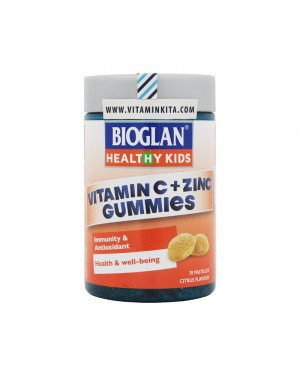 Bioglan Healthy Kids Vitamin C Plus Zinc Gummies - 70 pastilles