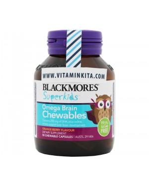 Blackmores Superkids Omega Brain Chewables (50 Chewcap)