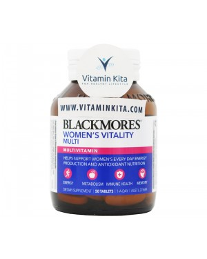 Blackmores Women's Vitality Multi (50 Tab)