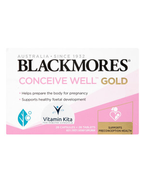 Blackmores Conceive Well Gold  (28Caps 28Tab)