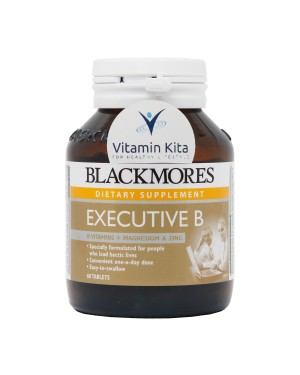 Blackmores Executive B Vitamin B Magnesium And Zinc-60Tab