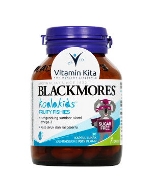 BLACKMORES KIDS FRUITY FISHIES BPOM KALBE - 30 CAPS