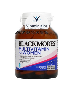 Blackmores Multivitamin for Women-50tab