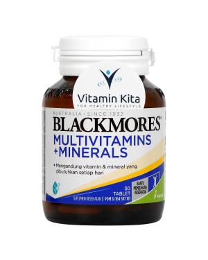 BLACKMORES MULTIVITAMINS PLUS MINERALS BPOM KALBE - 30 TAB