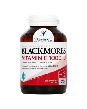 Blackmores Vitamin E 1000IU (100 Caps)
