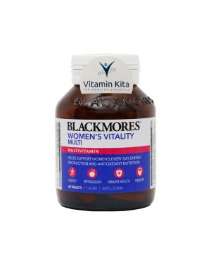 Blackmores Womens Vitality Multi - 60 Tab