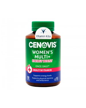 Cenovis Once Daily  Women's Multi Energy Boost (50 Caps)